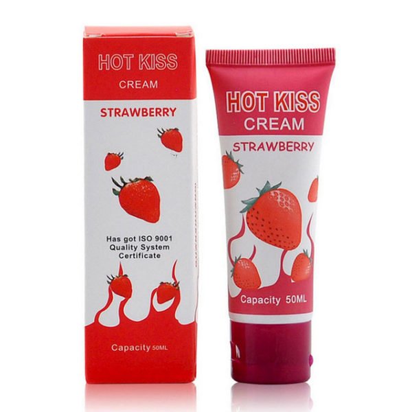 Hot-Love-Kiss-Strawberry-Flavored-Edible-Lubricants-intercourse-Male-Female-Oral-Sex-Anal-Sex-Lubricant