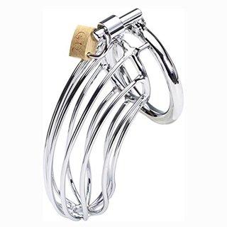 Metal Chastity Lock Device