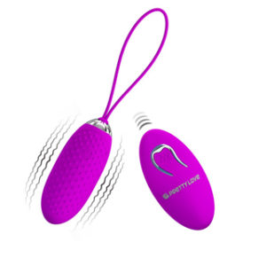Pretty Love Dotted Remote Control Vibrator