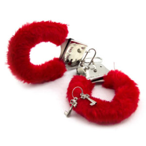 Red Furry Handcuffs